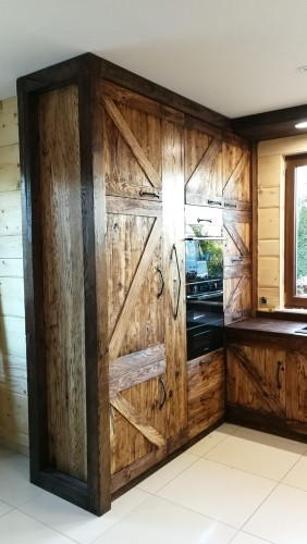 Kuchnia Na Wymiar Rustykalna Wiejska