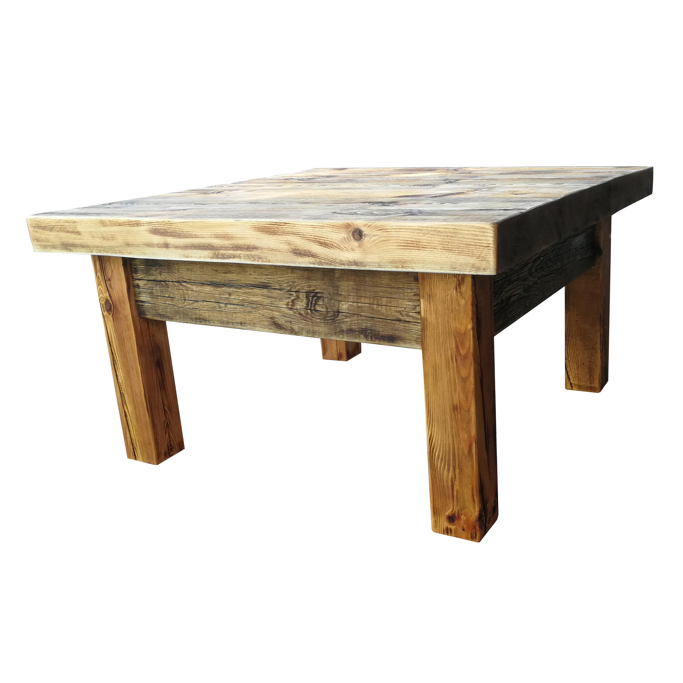 Stolik Kawowy Drewniany Forge